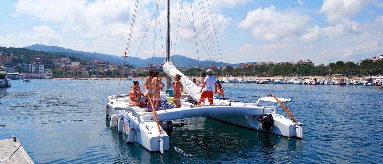 Catamarán Platja d'Aro