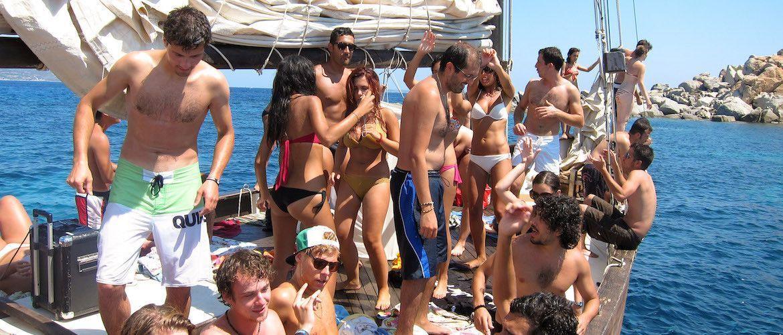 Fiesta en barco pack Platja d'Aro